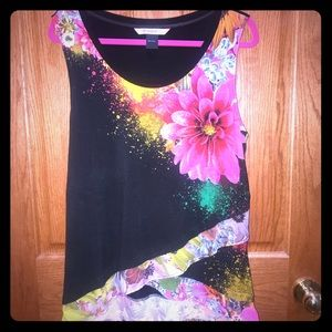 Desigual Tops - Fabulous Desigual tank with vibrant floral design